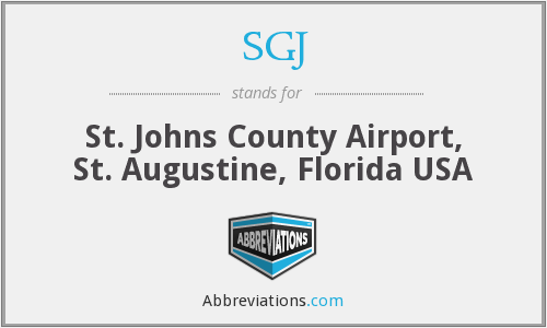 SGJ - St. Johns County Airport, St. Augustine, Florida USA