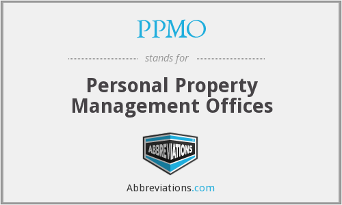 PPMO - Personal Property Management Offices
