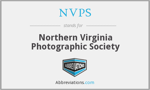 NVPS - Northern Virginia Photographic Society