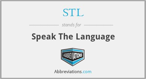 STL - Speak The Language
