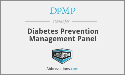 DPMP - Diabetes Prevention Management Panel