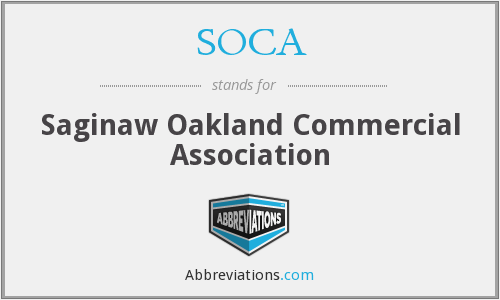 SOCA - Saginaw Oakland Commercial Association