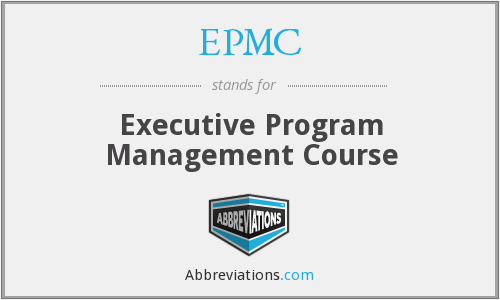 EPMC - Executive Program Management Course