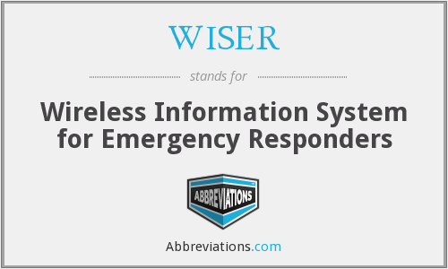 What does WISER stand for?