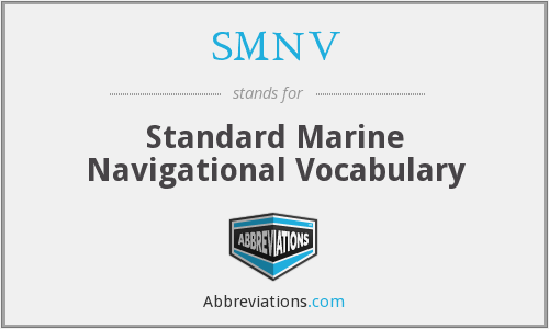 What does SMNV stand for?