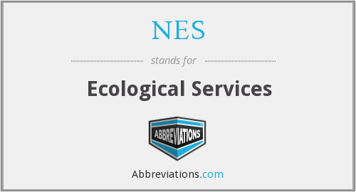 NES - Ecological Services