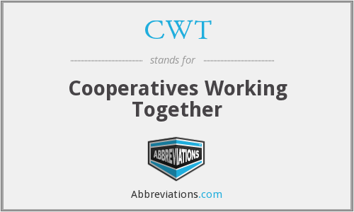 CWT - Cooperatives Working Together