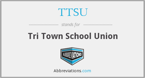 What does TTSU stand for?