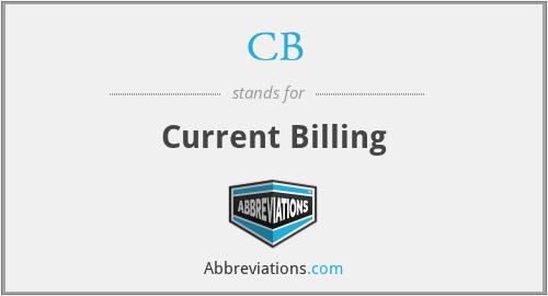 CB - Current Billing
