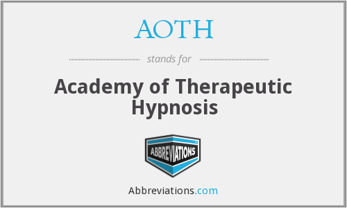 AOTH - Academy of Therapeutic Hypnosis