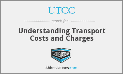 UTCC - Understanding Transport Costs and Charges