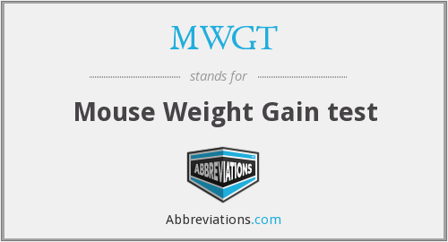 What does MWGT stand for?
