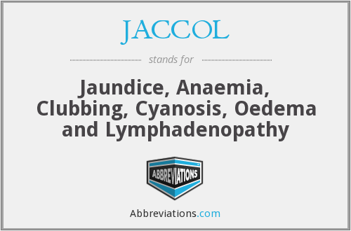 What does JACCOL stand for?