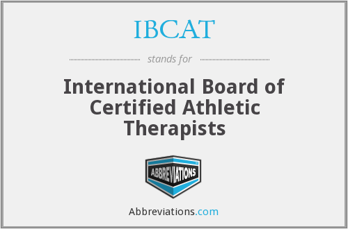 What does IBCAT stand for?