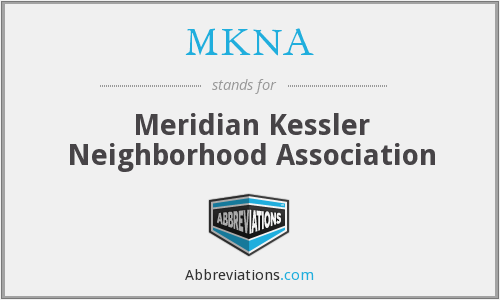 What does MKNA stand for?