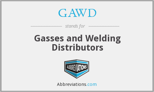 GAWD - Gasses and Welding Distributors