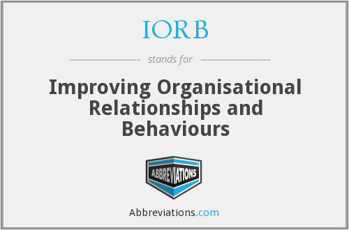 What does IORB stand for?
