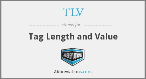TLV - Tag Length and Value