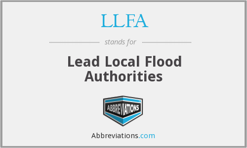 What does LLFA stand for?