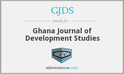 What does GJDS stand for?