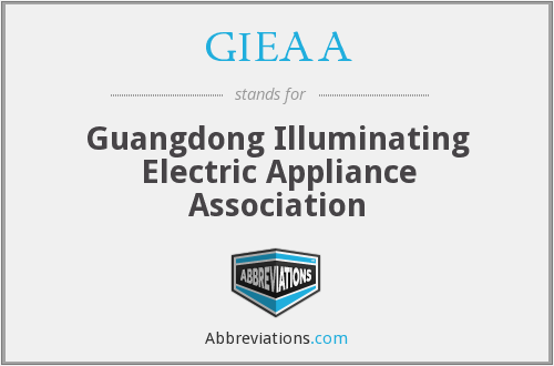 What does GIEAA stand for?