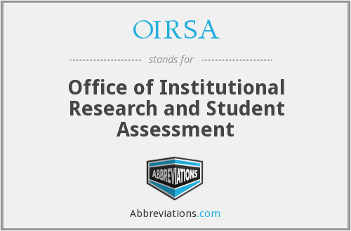 What does OIRSA stand for?
