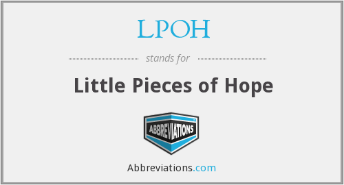 What does LPOH stand for?