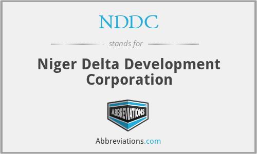 NDDC - Niger Delta Development Corporation