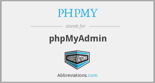 What does PHPMY stand for?