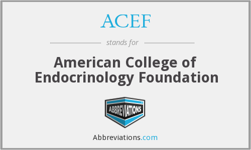 What does ACEF stand for?