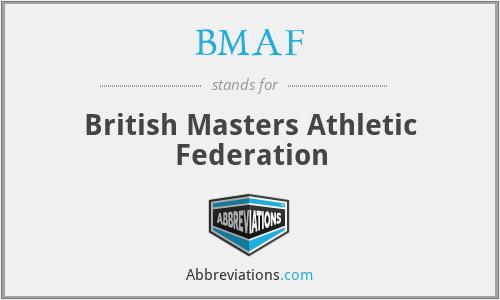 BMAF - British Masters Athletic Federation