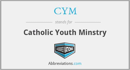 CYM - Catholic Youth Minstry