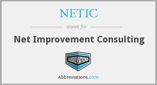 What does NETIC stand for?