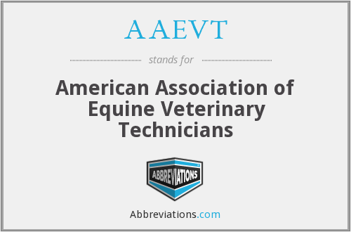 AAEVT - American Association of Equine Veterinary Technicians