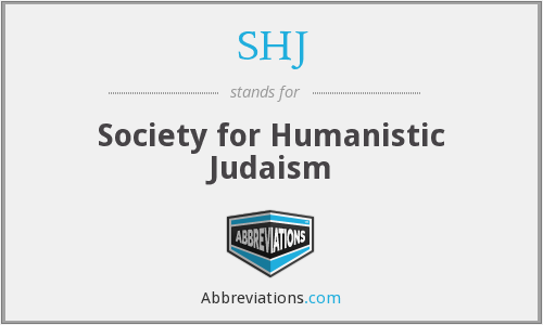 SHJ - Society for Humanistic Judaism