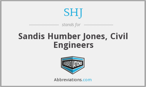 SHJ - Sandis Humber Jones, Civil Engineers