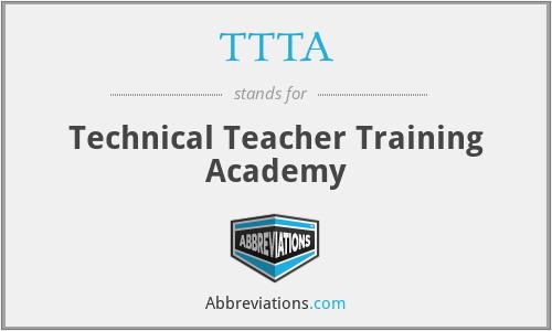TTTA - Technical Teacher Training Academy