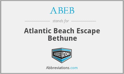 ABEB - Atlantic Beach Escape Bethune