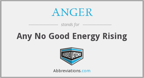 What does ANGER stand for?