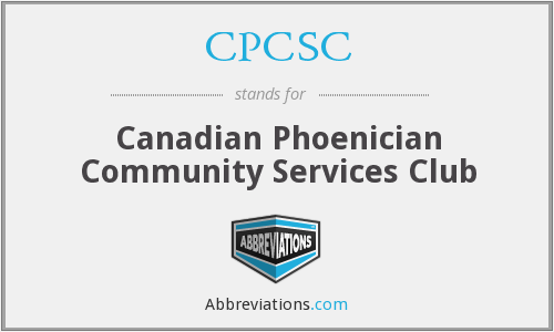 CPCSC - Canadian Phoenician Community Services Club