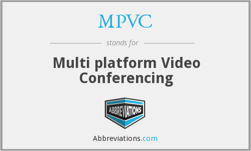 What does MPVC stand for?