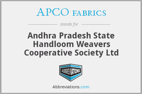 What does APCO FABRICS stand for?
