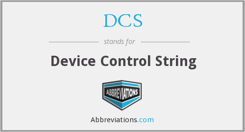 DCS - Device Control String