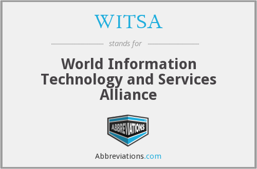 What does WITSA stand for?