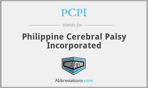 PCPI - Philippine Cerebral Palsy Incorporated