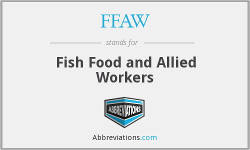 What does FFAW stand for?