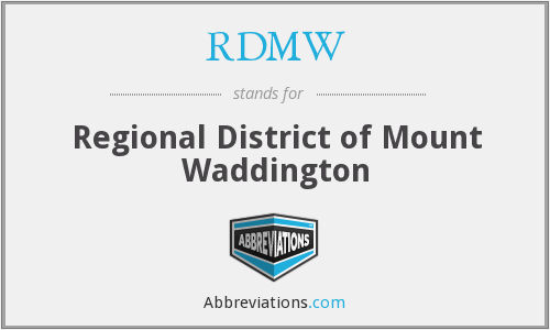 What does RDMW stand for?