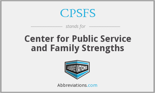 What does CPSFS stand for?