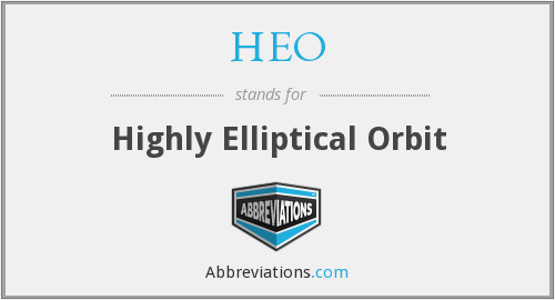 What does HEO stand for?