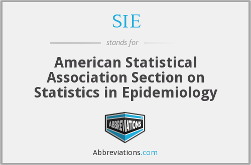 SIE - American Statistical Association Section on Statistics in Epidemiology